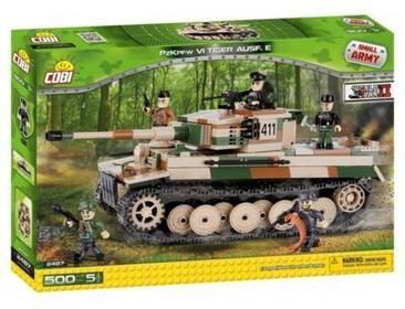 Cobi Armia Tiger PzKpfw VI Ausf. E - Czołg niemiecki 2407