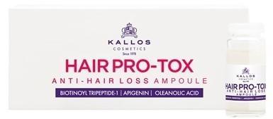Kallos Hair Botox Anti-Hair Loss - ampułki wypadające 6 x 10ml