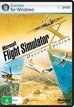 Microsoft Flight Simulator X Deluxe Edition PC