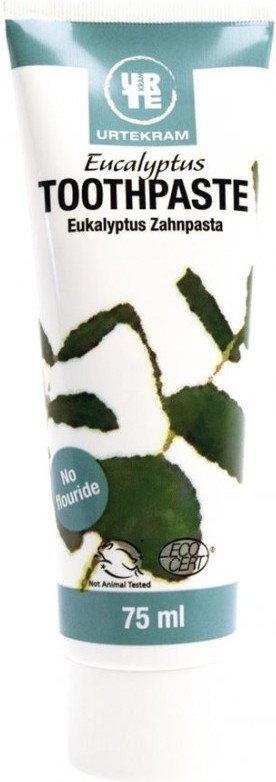 Urtekram Pasta do Zębów Eukaliptusowa Eko 75 ml