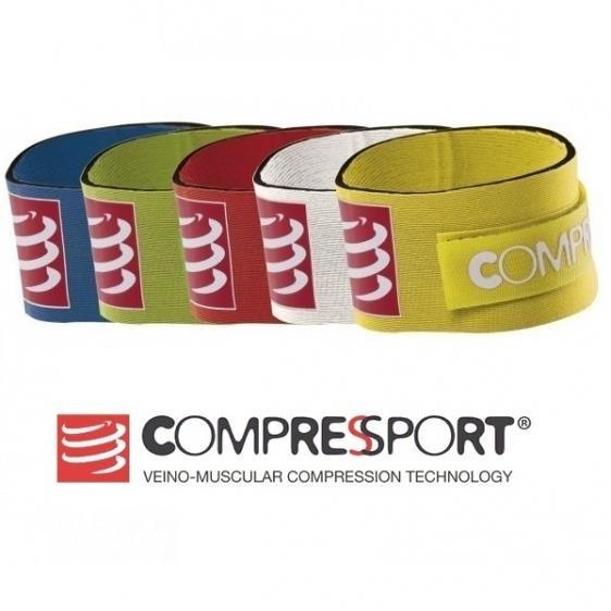 COMPRESSPORT COMPRESSPORT Chip Strap Pasek na chip Czarny