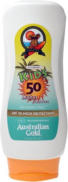 Australian Gold Gold Kids Sunscreen Lotion SPF50 Mleczko do opalania dla dzieci 237ml