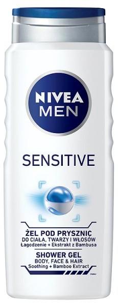 Nivea Men Żel pod prysznic SENSITIVE 500ml