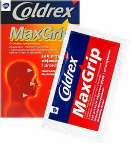 GlaxoSmithKline Coldrex MaxGrip cytrynowy 10 szt.