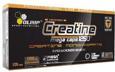 Olimp Creatine Mega Caps 1250mg 120kap