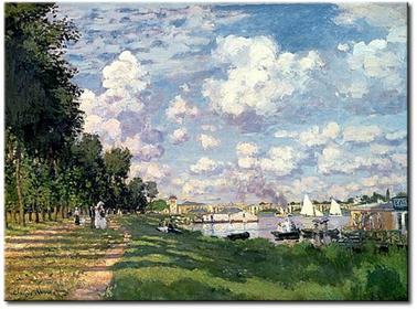 Bimago Obraz The Marina at Argenteuil 54751