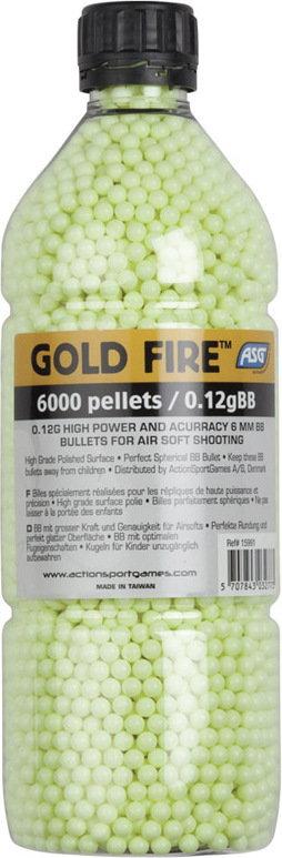 Opinie o Gold Fire Kulki ASG 0,12g 6000szt. (15991)