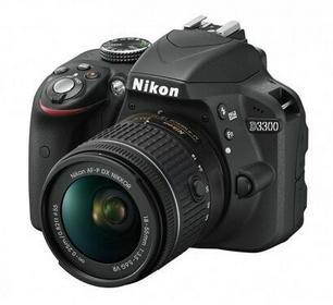 Nikon D3300 + AF-P 18-55 VR