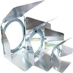 Eurolite Barn doors PAR-20 silver