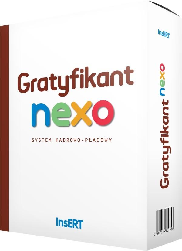 Opinie o InsERT Gratyfikant Nexo (50 prac. - rozszerzenie)