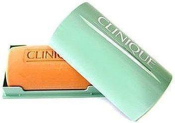 Clinique Facial Soap Oily Skin With Dish 100g W Mydło w kostce do skóry tłustej