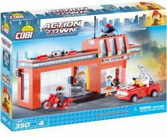 Cobi Action Town Depot Straży Pożarnej 1466