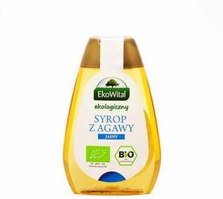 Eko Wital Syrop z agawy ciemny BIO 250 ml