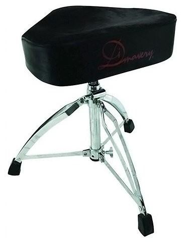 Dimavery DIMAVERY 26031330DT-120perkusja kształtu siodełka siedziska DT-120 Drum Throne Saddle form