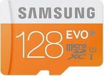 Opinie o Samsung MicroSDXC Evo Class 10 128GB