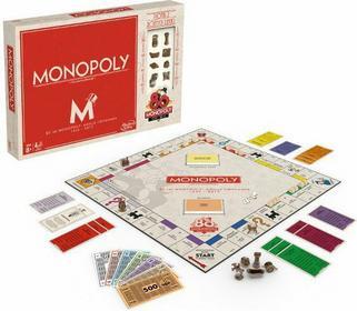 Hasbro Monopoly 80 urodziny B0622