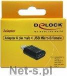 Delock Adapter IPhone 5/ Ipod / Ipad 8 PIN > Micro USB F
