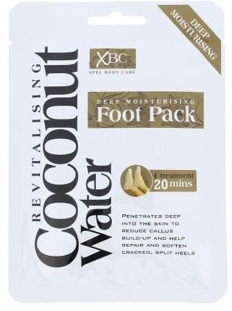 Xpel Xpel Coconut Water Deep Moisturising Foot Pack 1szt W Maseczka do stóp 71243