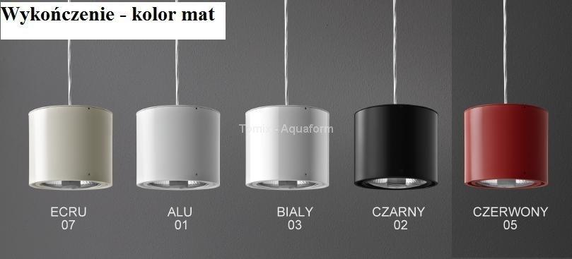 Aquaform Oprawa sufitowa RING ON LED, WW (ciepła biel) kol. ALU/ Czarny /BIAŁY / CZERWONY /ECRU (45924-) –