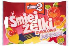 Storck Żelki owocowe nimm2 Śmiejżelki owocowo-jogurtowe wzbogacone witaminami 10