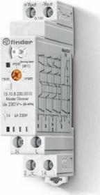 Finder Elektroniczny Przekaźnik impulsowy ze ściemniaczem, 100W 45-65Hz, funkcja