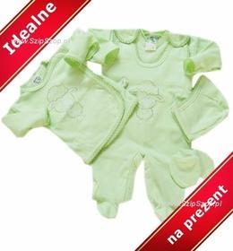 Wyprawka dla noworodka Owieczka jasna zielona na prezent 56