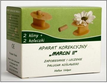 Aparat korekcyjny na halluksy MARCIN II