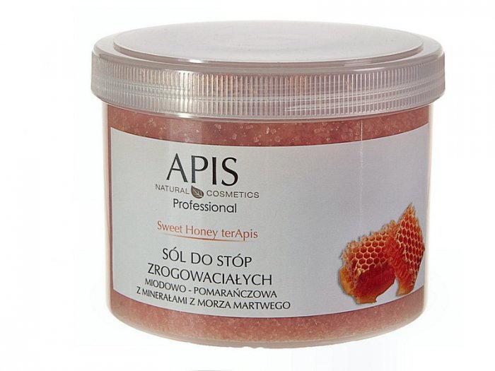 Apis Professional Sweet Honey terApis sól do stóp zrogowaciałych 650g