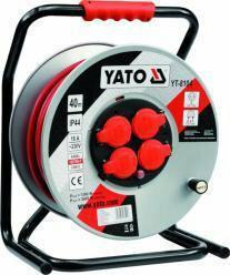 Yato Przedłużacz bębnowy YT-8105 3 x 2,5 mm 4 gniazda 50 m