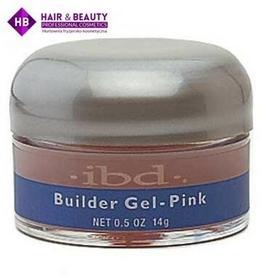 IBD żel budujący UV różowy 14 g