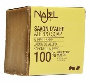 ALEPPO Mydło w kostce Oliwkowe Oliwka 100% NAJEL 200g