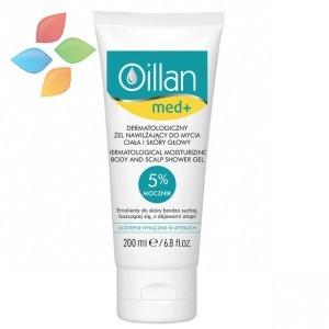Oceanic Oillan med+ Dermatologiczny żel nawilżający do mycia ciała i skóry głowy
