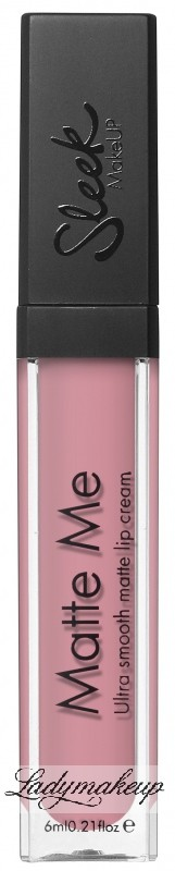 Sleek Matte Me Ultra smooth matte lip cream - Matowa pomadka do ust - 436 - BIRTHDAY SUIT SLMM-436 - BIRTHDAY SUIT