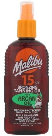 MALIBU Bronzing Tanning Oil SPF15 Argan Oil 200ml W Opalanie 73717
