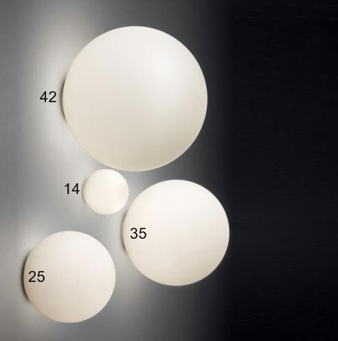 Artemide DIOSCURI PARETE/SOFFITTO 42 lampa sufitowa/ścienna 0117010A