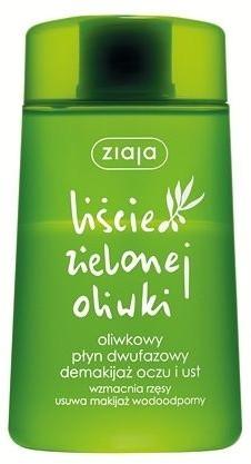 Ziaja Liście zielonej oliwki oliwkowy płyn dwufazowy demakijaż oczu i ust 120ml