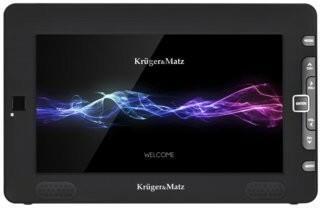 Kruger&Matz Przenośny telewizor 9 z wbudowanym tunerem DVB-T2 HD KM0196