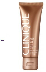 Clinique Self Sun Face Bronzing Gel Tint żel brązujący do twarzy 50ml