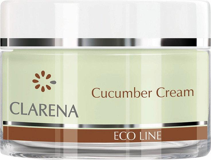 Clarena Eco Line Cucumber Cream krem oczyszczająco-rozjaśniający z ogórkiem 50ml