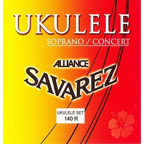 Savarez savarez komplet strun do Ukulele sopranowy/Concert 140R Menzura 345375MM 660790