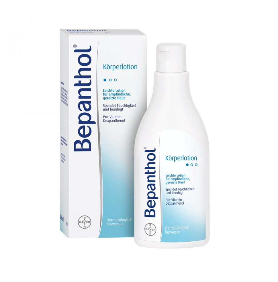 Bayer Bepanthol balsam do ciała Vital GmbH 200 ml