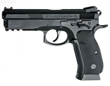 Action Sport Games wiatrówka CZ 75 P-01 Shadow 4,5 mm mm (17526)