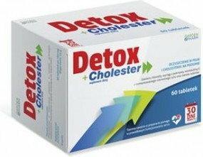GARDENPHARM Detox + Cholester 60 szt.