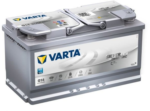 Varta Silver Dynamic AGM G14 12V 95 Ah / 850 A P+