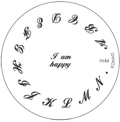 Konad Płytka do wzorków M46