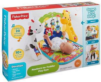 Fisher Price CCB70 Żyrafa i Zebra