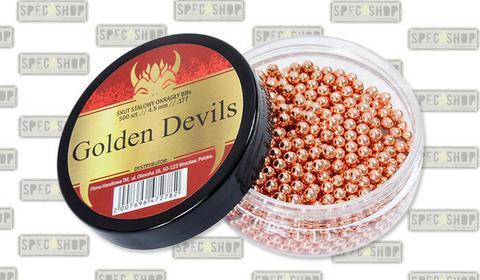 AAA Golden Devils - Śrut stalowy okrągły BB - 500 szt. - 4,5 mm