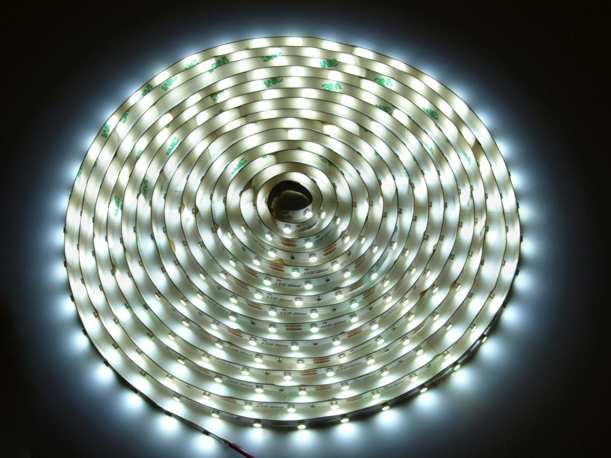 LED Line Taśma 300 SMD 3528 biała neutralna w powłoce silikonowej IP65 2 (240256)