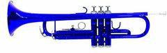 Dimavery TP-10 Trąbka strój Bb, niebieska