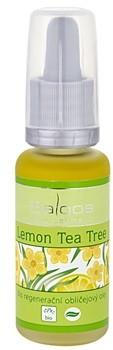 Saloos Bio Regenerative Facial Oil regenerujący olejek do twarzy z drzewa herbacianego z cytryny 20ml